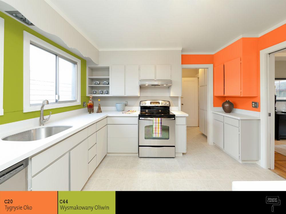 Żywe kolory ścian w kuchni  zobacz 5 najlepszych inspiracji -> Kolory Kuchni Sciany