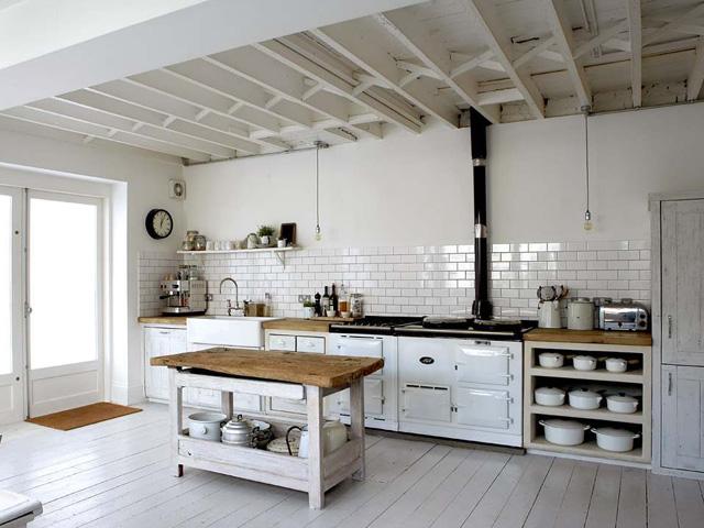 Styl vintage w kuchni
