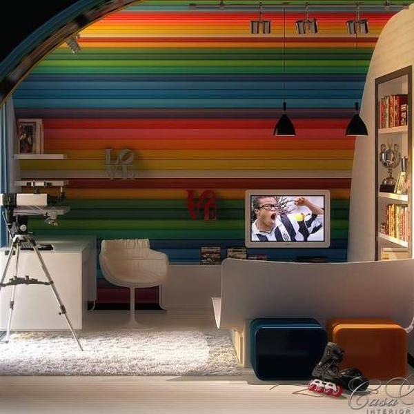 Kolor w pokoju dziecka. Fot. Casa Bella