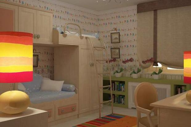 Kolor w pokoju dziecka. Fot. Nalatia Bieljakowa