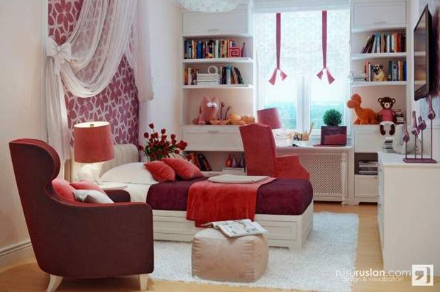Kolor w pokoju dziecka. Fot. Rusu Ruslan