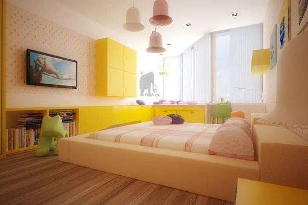 Kolor w pokoju dziecka. Fot. Shulga