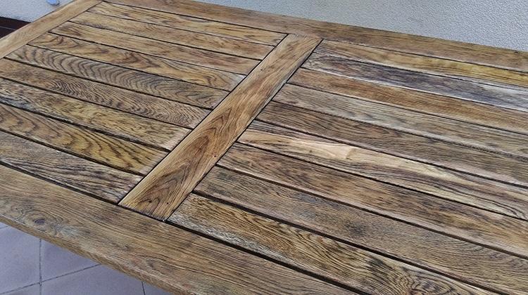 Jak Odnowic Meble Ogrodowe Drewniane : Etap III  aplikacja warstyw dekoracyjnoochronnej, czyli lakierobejcy