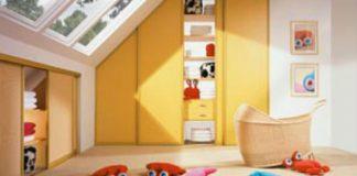 Pokój dziecka - kolorowe królestwo i plac zabaw malucha
