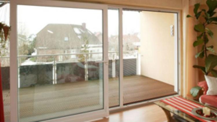 Drzwi balkonowe z niskim progiem