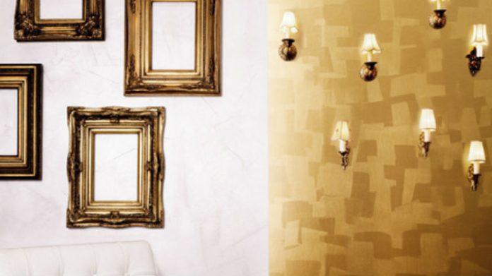 Ściany na złoto