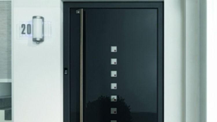 Aluminiowe drzwi wejściowe