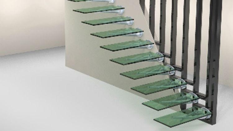 A może schody ze szkła?