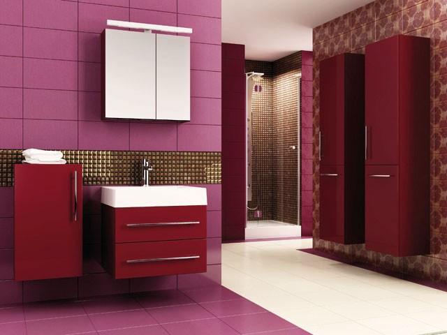 Meble łazienkowe Amsterdam - akrylowa powierzchnia w najmodniejszych kolorach
