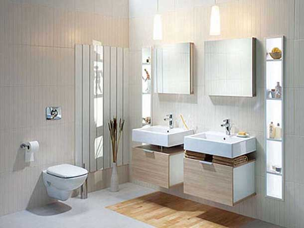 Łazienka skrojona na miarę. Fot.: Sanitec Koło