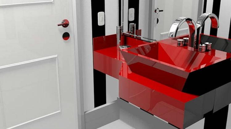 Dwie łazienki w jednym domu