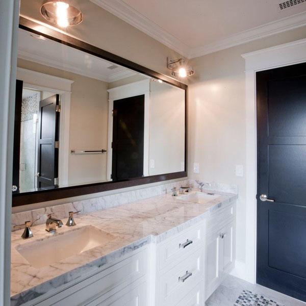 Duże Lustro W łazience Portal Wnętrzarski