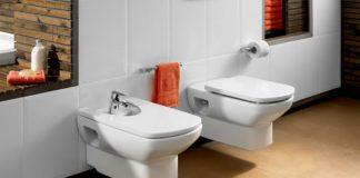 Niewidoczny stylista przestrzeni łazienkowej - stelaże podtynkowe