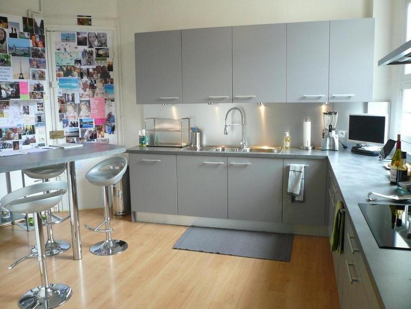 Kuchnia Na Szaro Portal Wnętrzarski Mieszkaniezpomyslempl