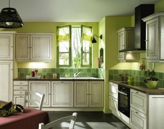 ściany W Kuchni 11 Inspiracji Z Zielenią W Roli Głównej
