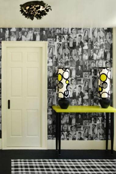 czarne ściany w domu, fot.: Groop Dizin