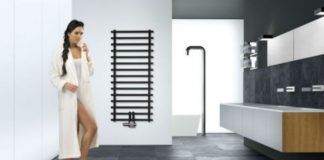 Leros - grzejnik do minimalistycznej łazienki
