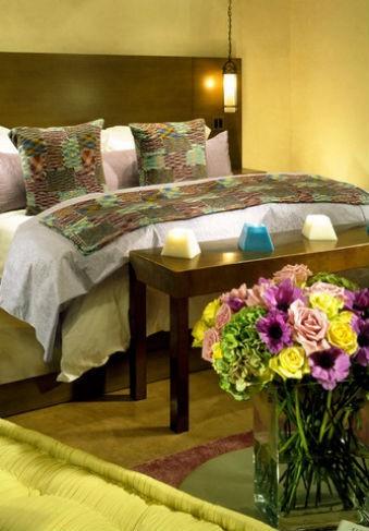 Róże w sypialni, fot.: LKID