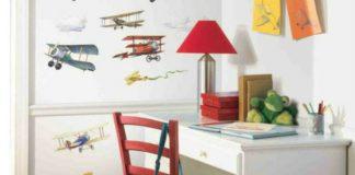 Kolorowe naklejki do dziecięcych pokojów