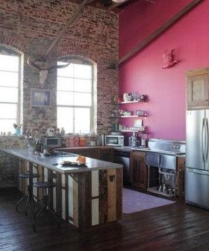 Różowe ściany Dobre Tło Dla Innych Kolorów Portal
