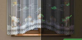 Fluorescencyjne firanki do pokoju dziecka