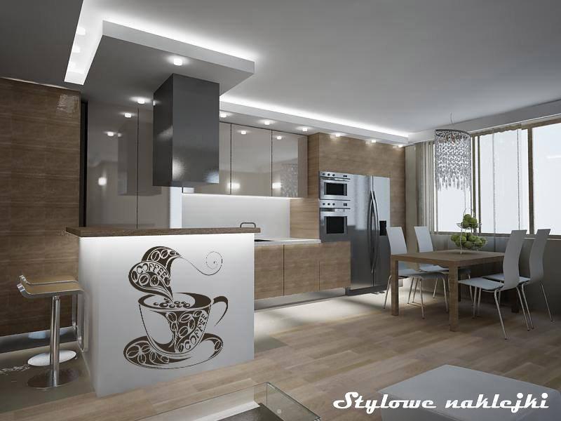 Naklejka do kuchni, fot.: stylowenaklejki.pl