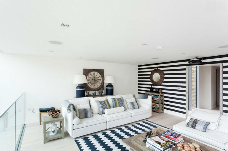 białe ściany w salonie aranżacje, źródło: LechitUSA