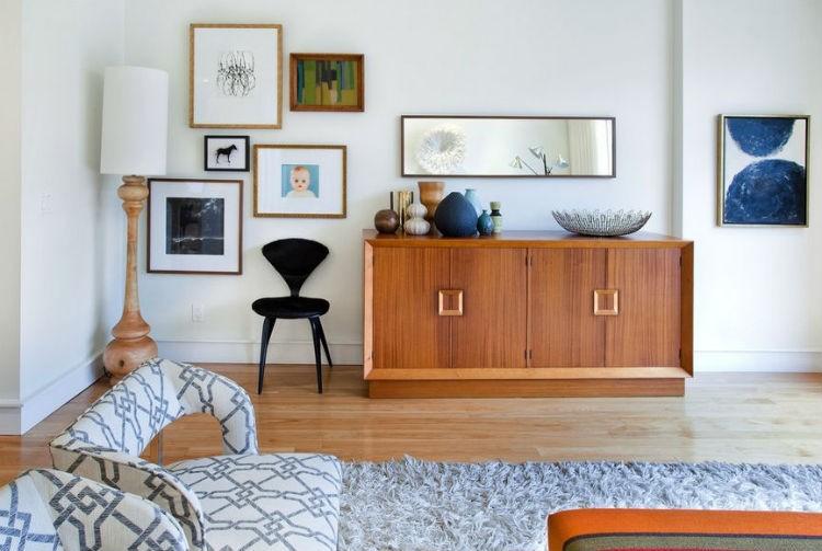 białe ściany w salonie jak zastosować, źródło: Shirley Meisels