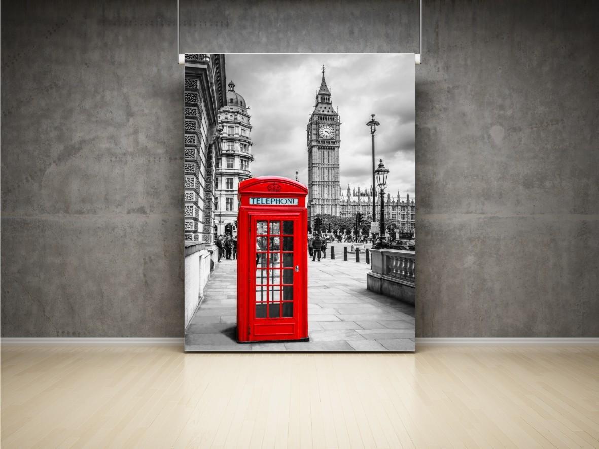 Aranżacje fototapety na ścianę londyn