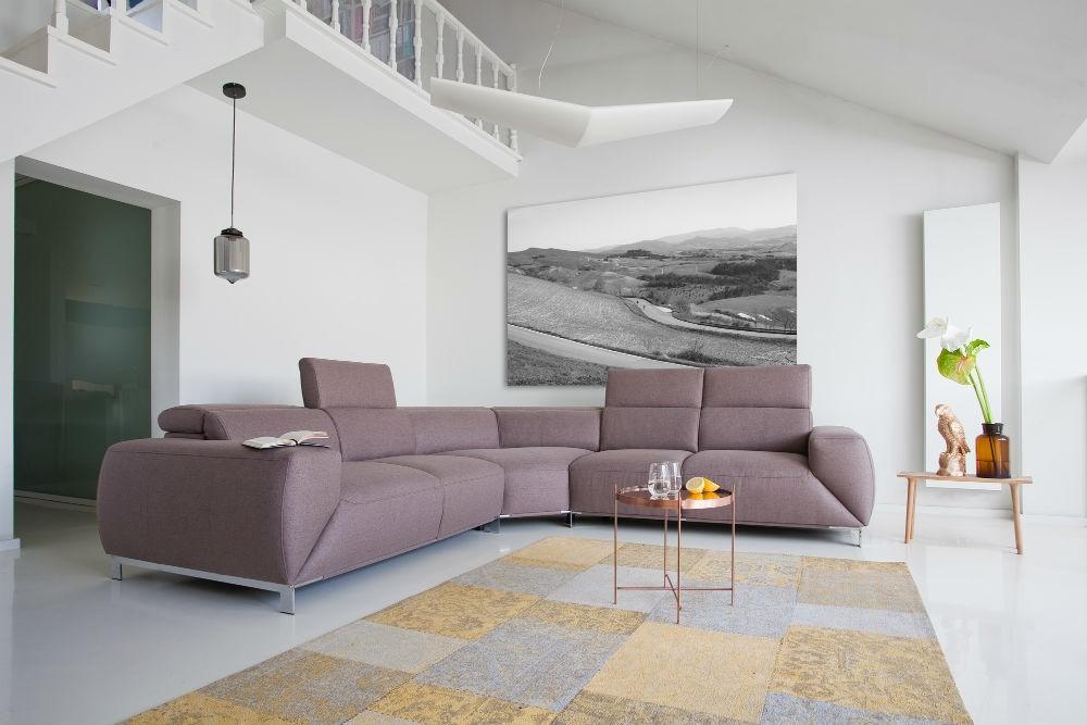 Kolekcja modułowa Bosco - wygodna kolekcja sof i foteli, kusząca przytulnymi kształtami i pięknym wykończeniem