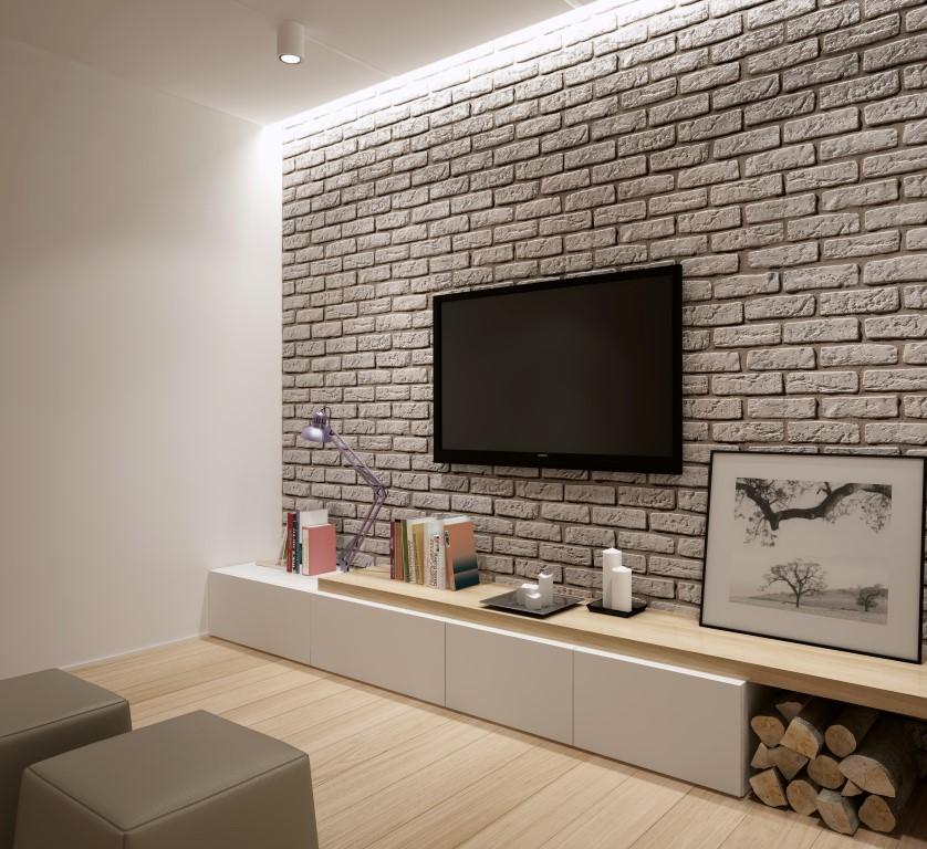 Kamień dekoracyjny Loft Brick White Stone Master