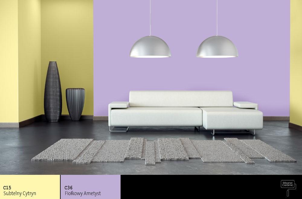 Zestawienie kolorów ścian. Jak odpowiednio wybrać dwa kolory?