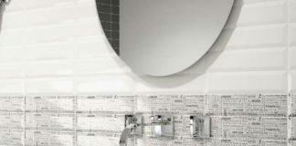 Płytki ścienne metro w łazience: kafle inspirowane paryskim i londyńskim metrem