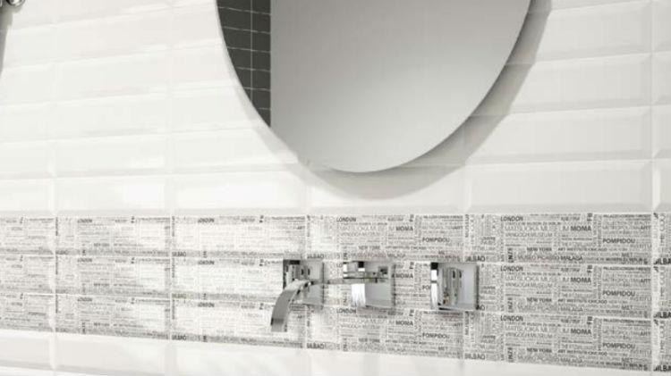Płytki Metro W łazience Kafle Inspirowane Paryskim I