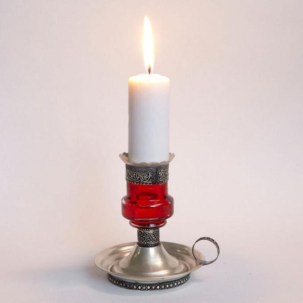 Świecznik orientalny ALADIN czerwony