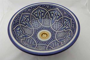 Orientalna umywalka, malowana dwustronnie