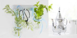 Zioła w szklanych słoikach - praktyczny i ładny dodatek do kuchni