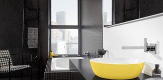 Kolorowe umywalki do łazienki