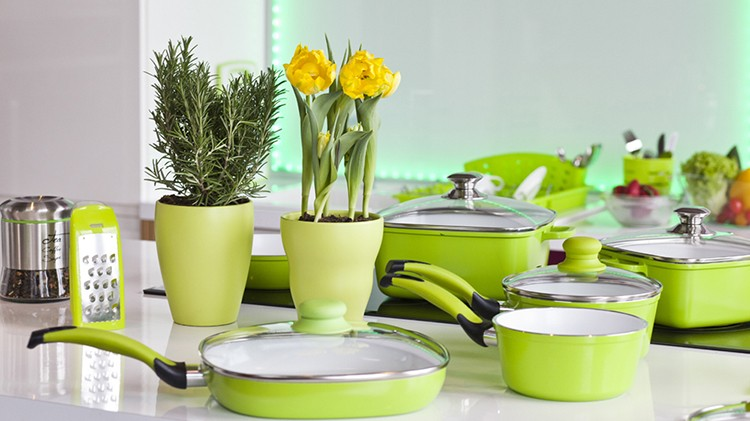 Zielone Dodatki Do Kuchni Portal Wnętrzarski