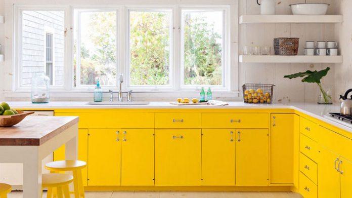 Żółta kuchnia - 8 pomysłów na słoneczną kuchnię
