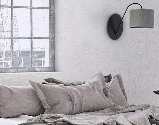 Klimatyczne oświetlenie sypialni z kolekcjami lamp marki Nowodvorski Lighting