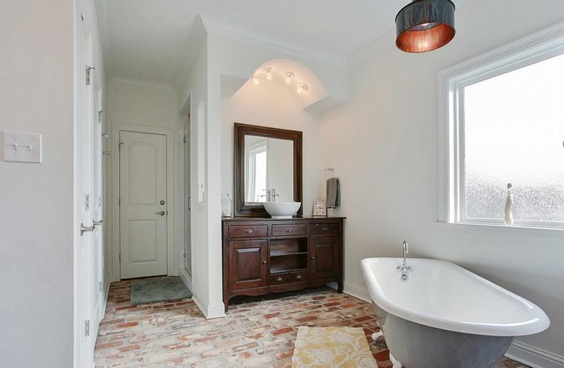 łazienka Z Cegłą 11 Pomysłów Na Cegłę W łazience