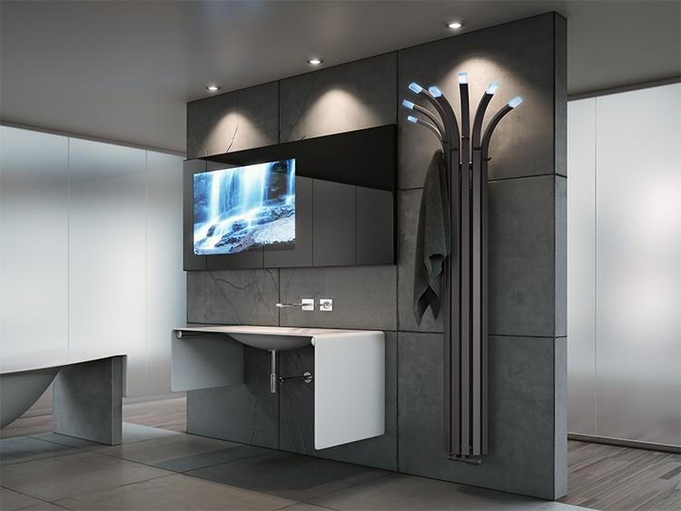 Grzejnik łazienkowy Palma  marki Enix - Projekt MULAWA DESIGN