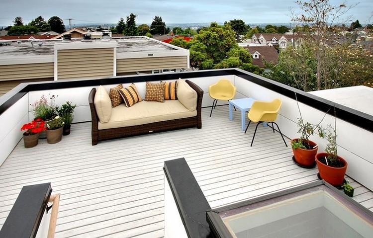 Taras na dachu, fot.: Chris Pardo Design
