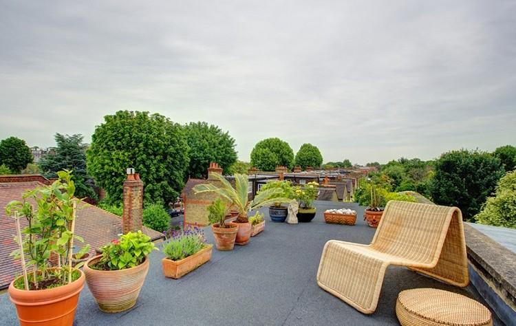Taras na dachu, fot.: Landmark Lofts