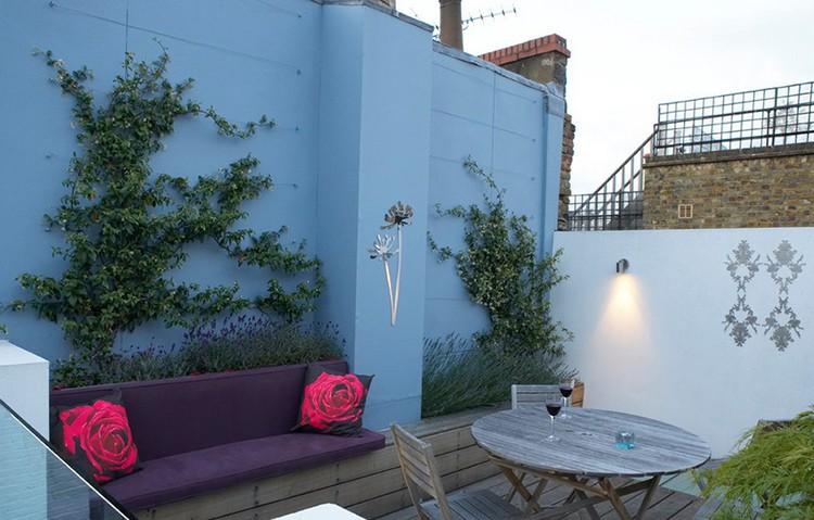 Taras na dachu, fot.: London Garden Designer