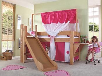 Piętrowe łóżko do pokoju dziecka