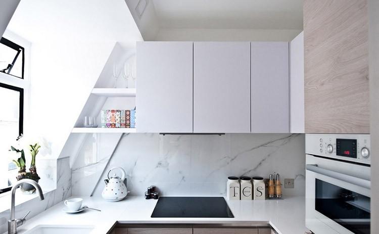 Mała kuchnia – praktyczne porady, jak ją urządzić, fot.: City Studio Apartament