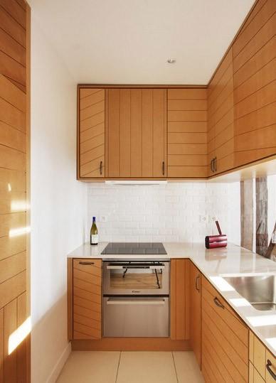 Mała kuchnia – praktyczne porady, jak ją urządzić, fot.: Andrea Mosce Architecte DESA