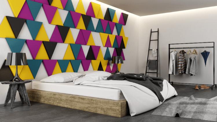Kolorowa sypialnia idealna - jak ją zaprojektować?
